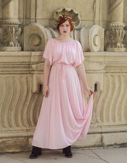 pink goddess gown 1