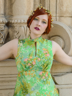 green floral gown 6
