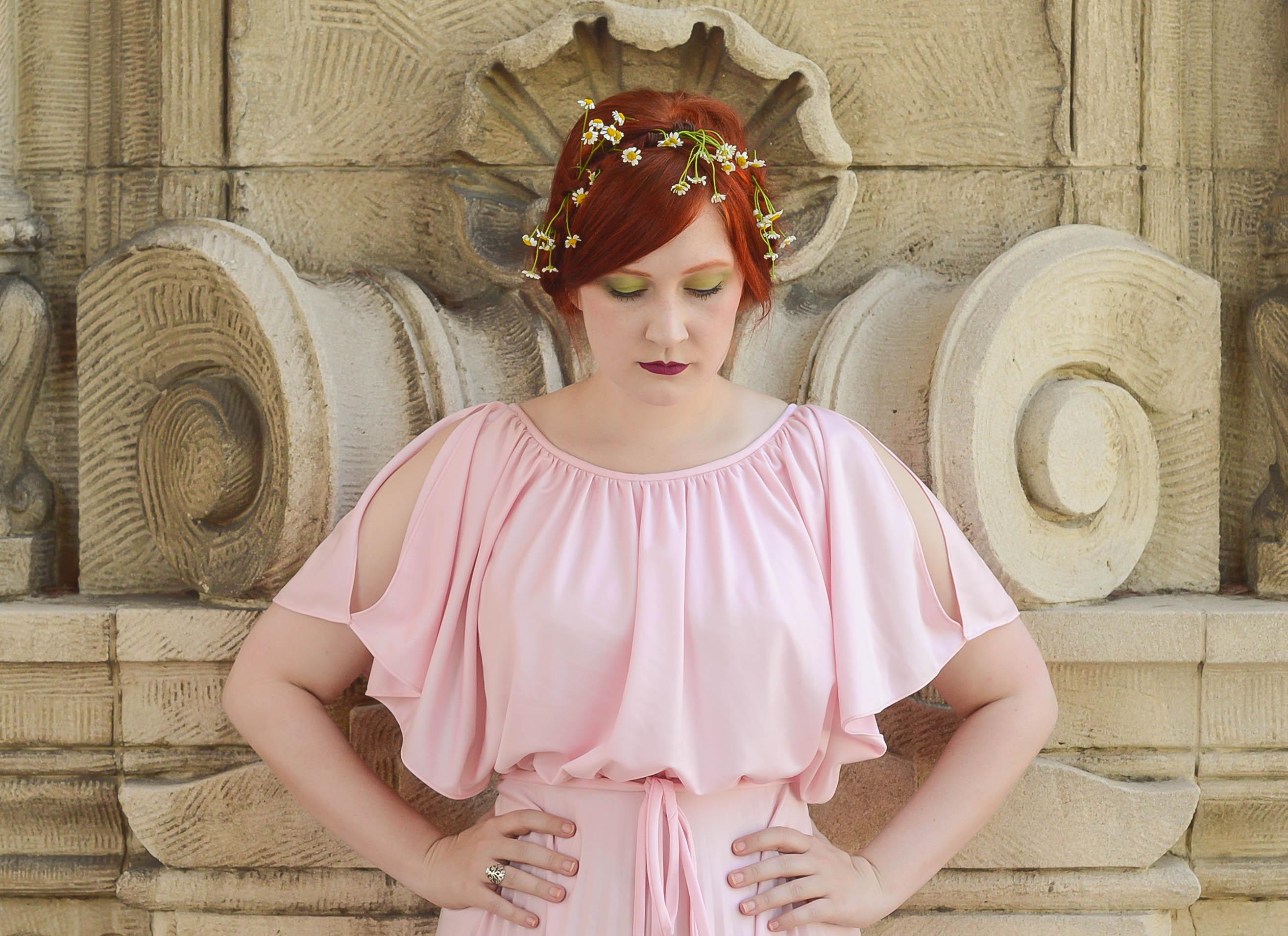 pink goddess gown 3