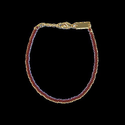 Pearl bracelet Bordeaux