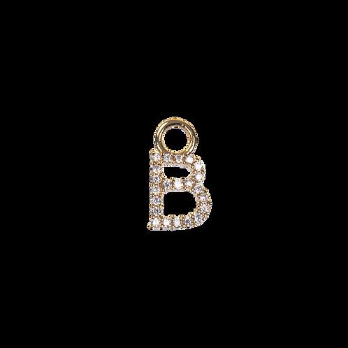 Letter charm B
