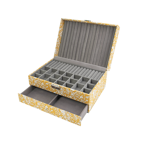 Liberty jewelry box, Summer blooms