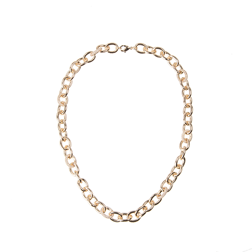 Chain necklace luxe 45cm