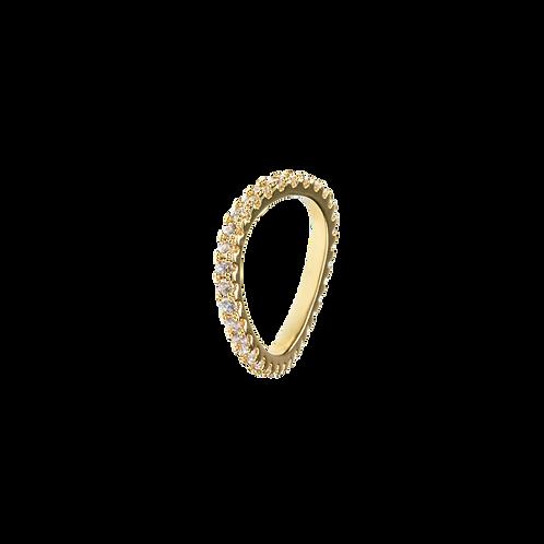 Wavy ring White