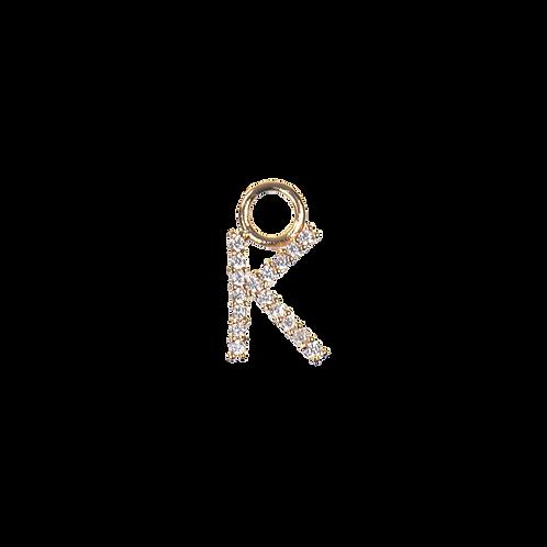 Letter charm K