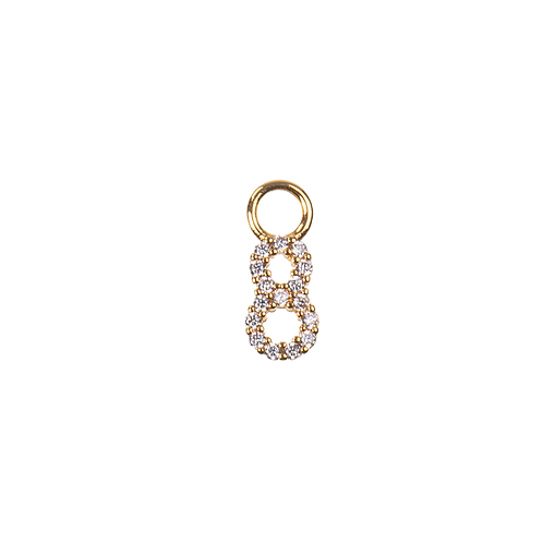 Number charm 8