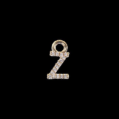 Letter charm Z