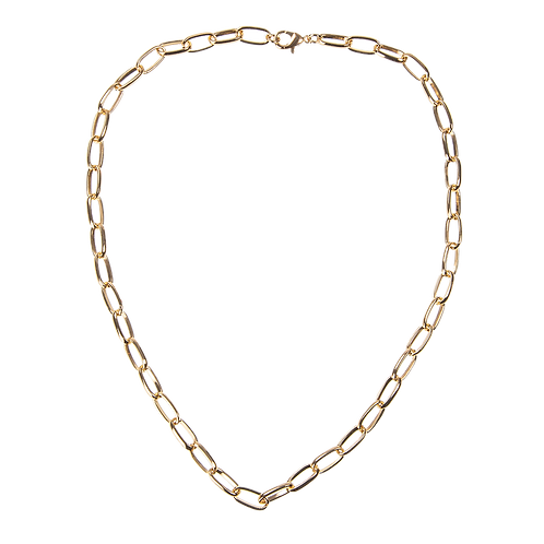 Large chain necklace 47cm