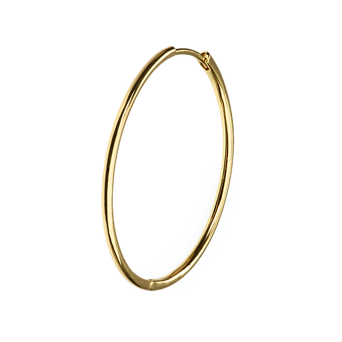 X-LARGE GOLD HOOPS