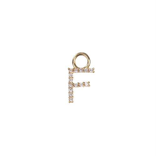 Letter charm F