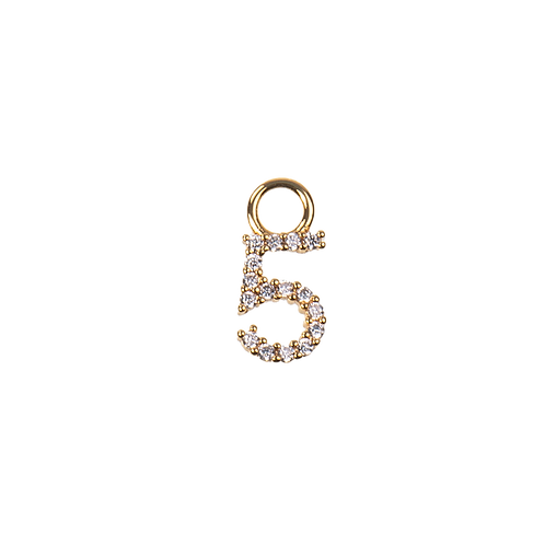 Number charm 5
