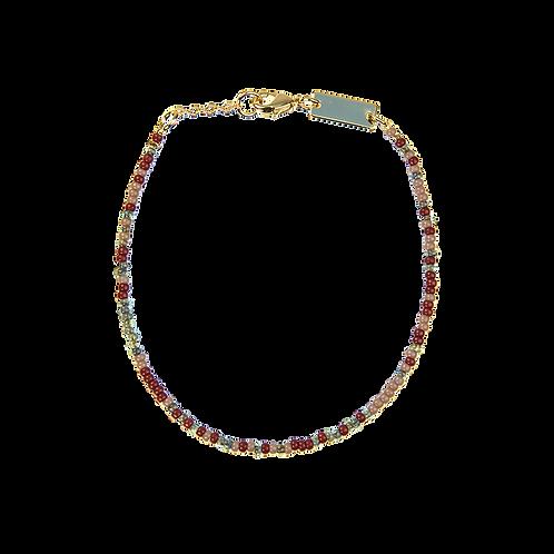 Pearl bracelet Dark multi