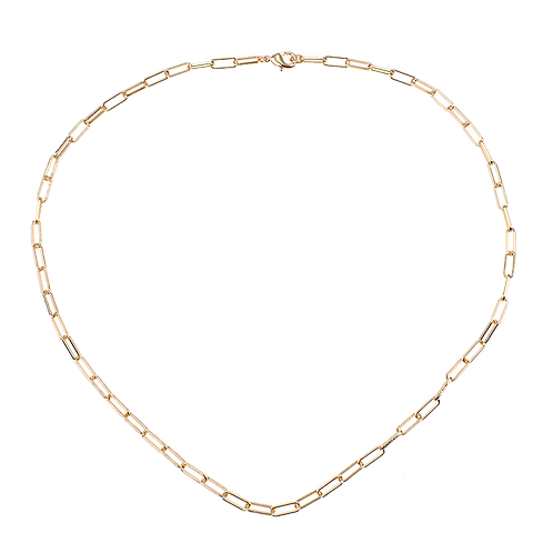 Thick chain necklace 45cm