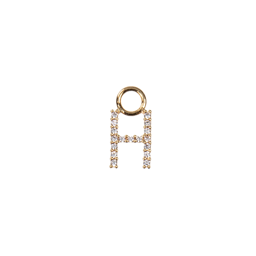 Letter charm H