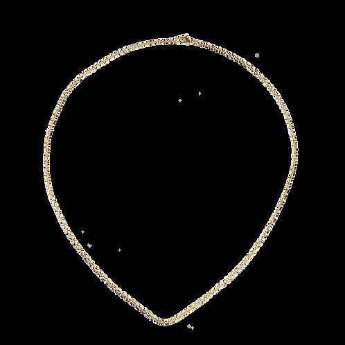 Gold necklace 50cm