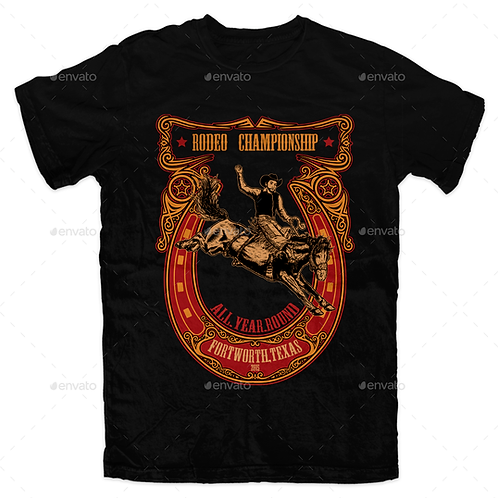 Frontier Rodeo T-Shirt