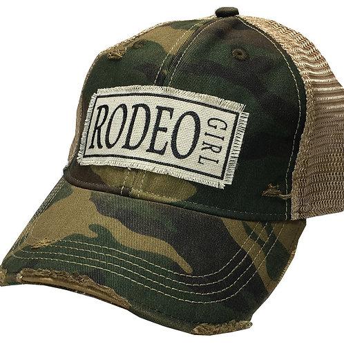 Frontier Rodeo Girl Trucker Cap