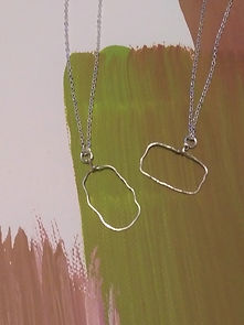 Sterling silver artisan necklaces