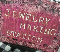 jewelry making station