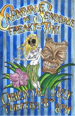 Carnivale de Sensuale Freaky Tiki