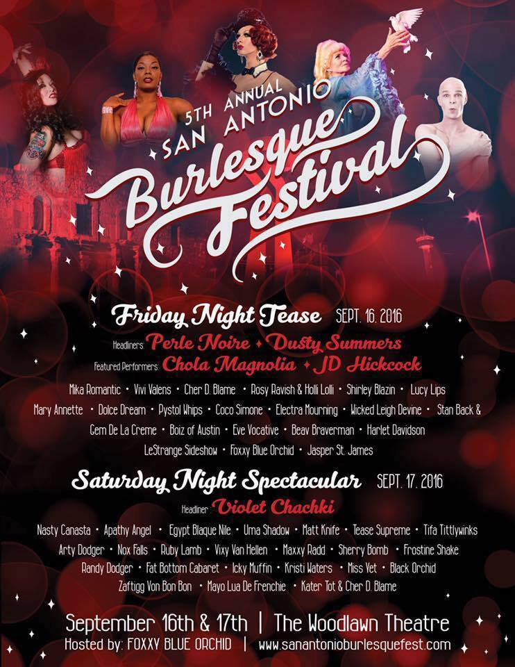 San Antonio Burlesque Festival 2016