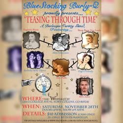 Blue Stocking Burly-Q