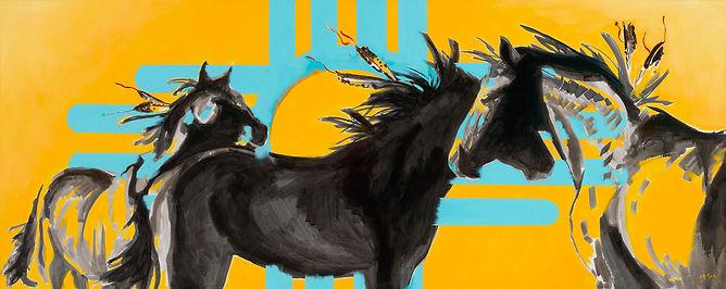 jennifer mack limited edition print horse painting