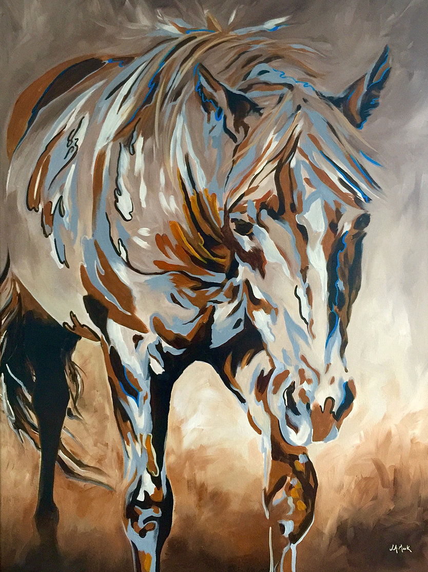 grazing gaze whispers medicine horse