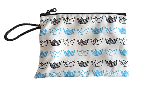 Origami Boats Pouch