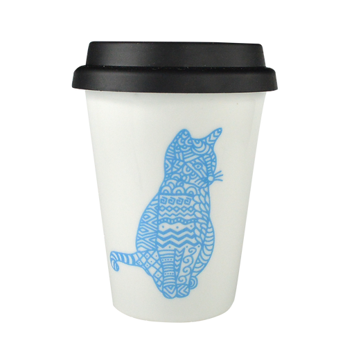 Cat - Coffee travel mug