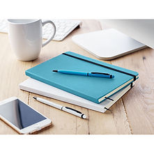 notebook set with pen