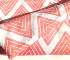 Beach Towel - Coral Meander