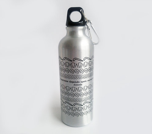 Stainless Steel Bottle-Motifs/ Aristotle's quote