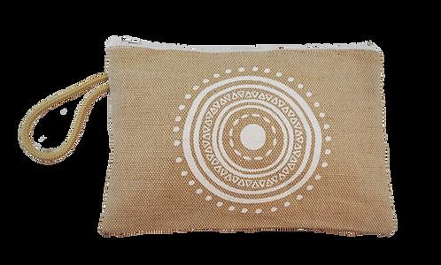 Eye motif - Jute pouch