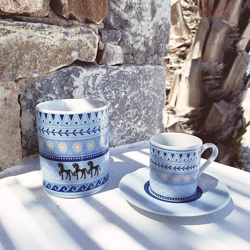 Custom Porcelain Drinkware - Mug & Coffee Cup