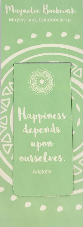Magnetic Bookmark - Happiness & Love