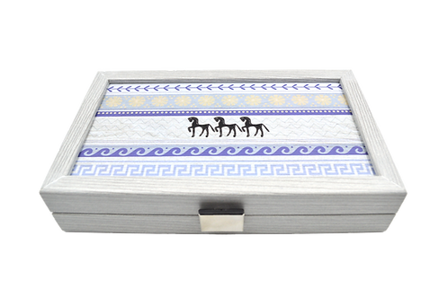 Backgammon Horses Pocket Size