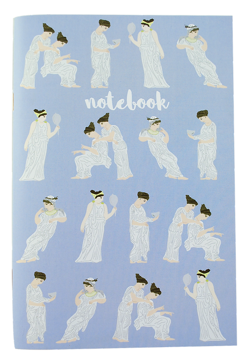 Ancient Greek Women - notebook (white pages)