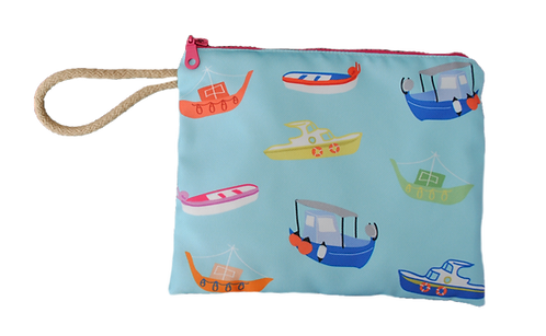 Greek Boats - Pouch