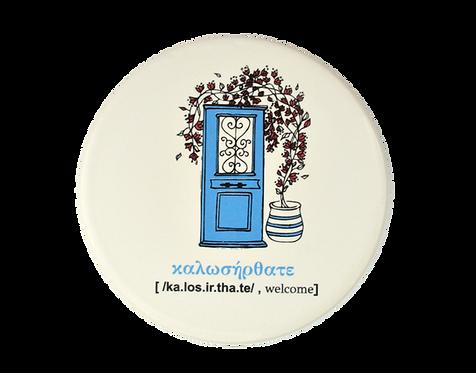 Voukamvilia Ceramic Coaster