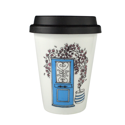 Door - Porcelain Coffee-to-go Mug