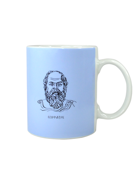 Socrates Porcelain Mug