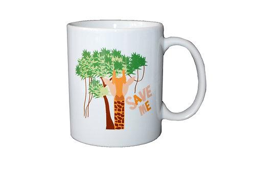 Giraffe - Porcelain Mug - Ploos for WWF