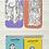 Thumbnail: Greek Gods - Set of 4 mini magnetic bookmarks