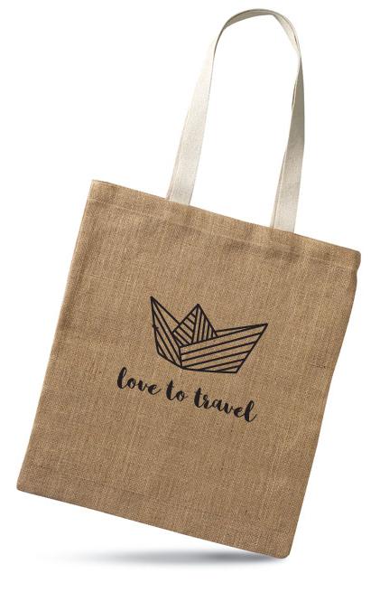 Boat - jute bag