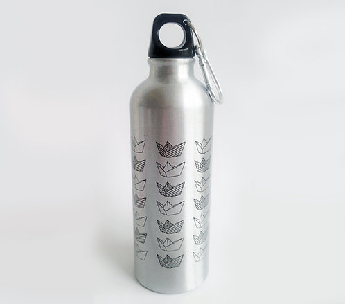 Stainless Steel Bottle - Small Boats
