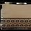 Thumbnail: Black Motif - Jute pouch