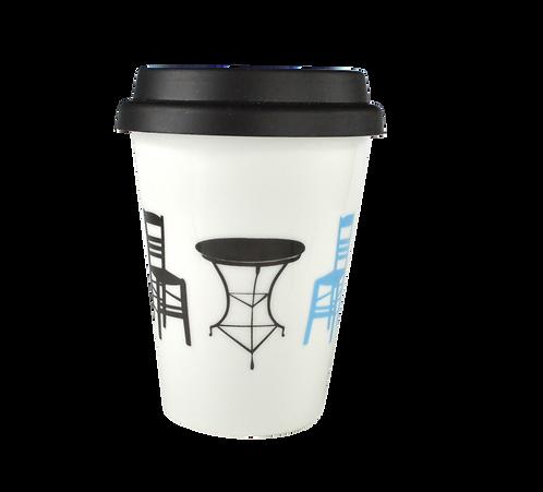 Double Coffee-to-go Mug - Kafenio