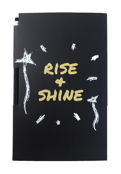 Notebook - Rise + Shine