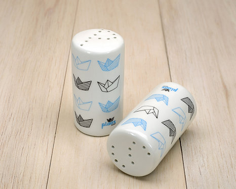 Salt & Pepper Paper Boats